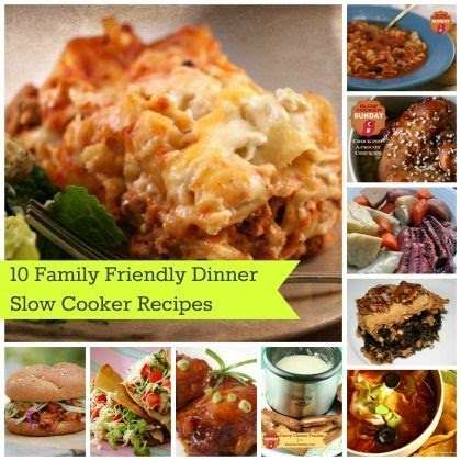 How to be health guide 10 family friendly slow cooker Easy dinner recipes for family of 6