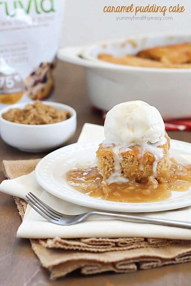 Caramel Pudding Cake | Yummy Healthy Easy