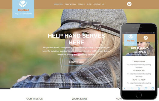 Help Hand a Charity Category Flat Bootstrap Responsive web template