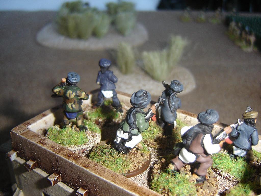 Taliban reinforcements arrive to ruin British position