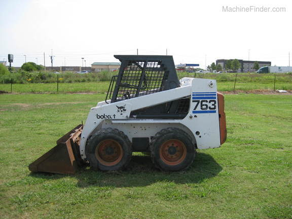 1998 Bobcat 763 Skid Steer Loaders Pryor Ok