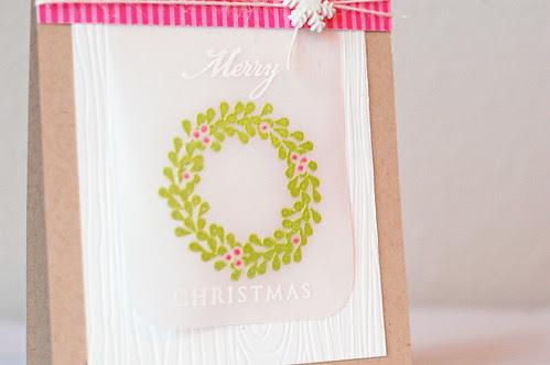 Wreath_pinkgreen_Merry Christmas_2013_01