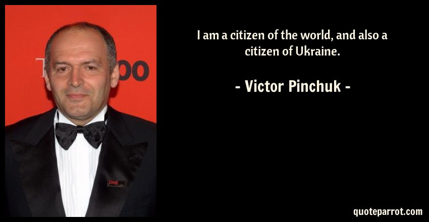 I Am A Citizen Of The World And Also A Citizen Of Ukra By Victor