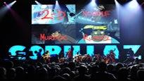 Gorillaz: Escape to Plastic Beach World Tour password for concert tickets.