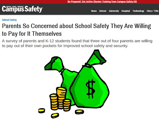 Parents So Concerned about School Safety They Are Willing to Pay for It Themselves - Protus3