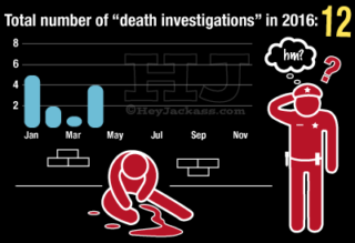2016 Chicago Homicide Death Investigations