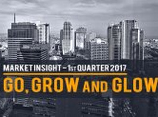Go, Grow and Glow - Market Insight Q1 2017