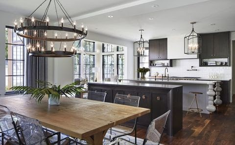 Awesome Contemporary Modern Open Concept Kitchen Living Room Photos
