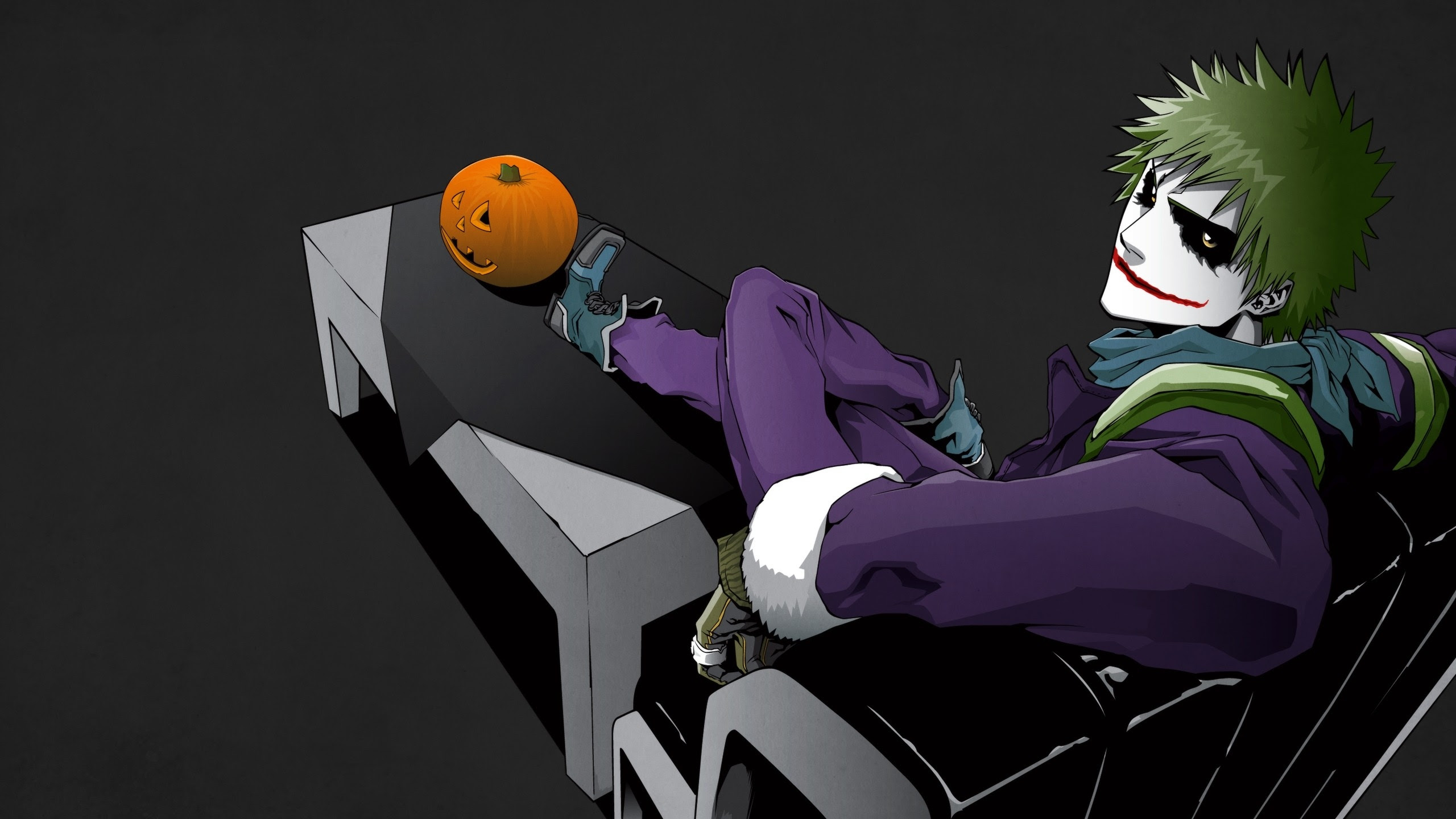 bleach the joker anime hollow ichigo crossovers pumpkins ...