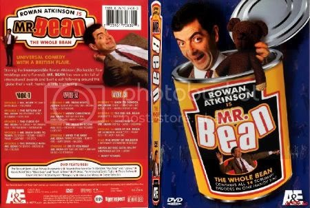 Tech Strings Mr Bean The Whole Bean Dvd Set Dvd 1 3