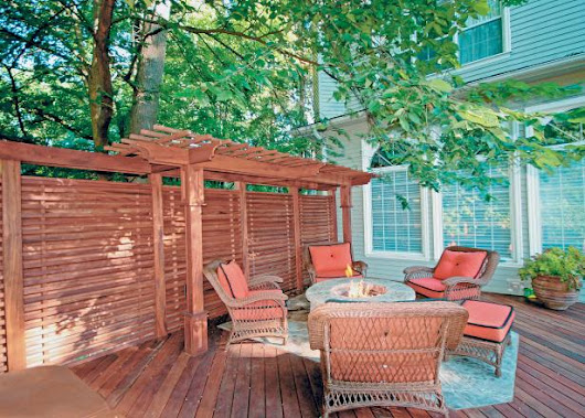 Design Ideas for Outdoor Privacy Walls, Screen and Curtains