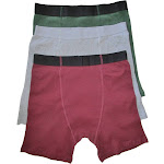 Stashitware XL Stash Pocket Boxer Brief Variety 3 Packs Men's Red, Grey, Green