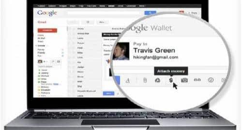 Dinheiro via Gmail
