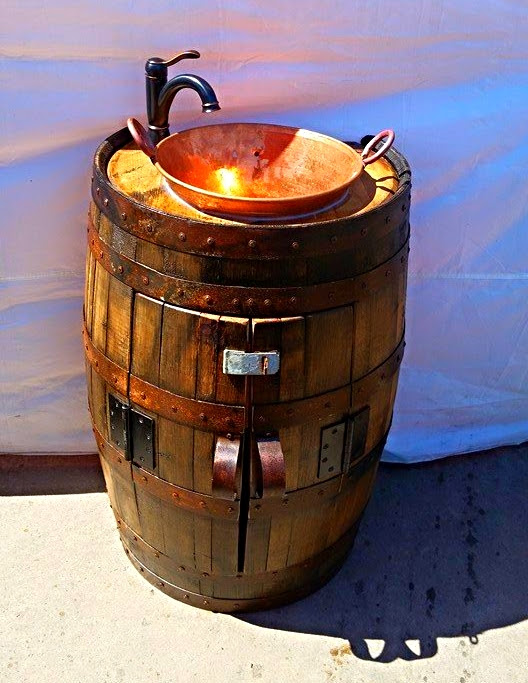 Barrel Sink Cabinet King Barrel