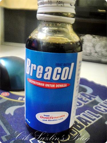 Ubat batuk Breacol