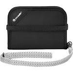 Pacsafe RFIDsafe V50 Anti Theft RFID Blocking Compact Wallet (Black)