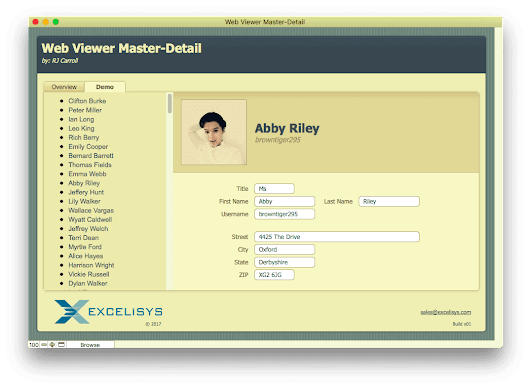 [FMP Tip-n-Trick] FileMaker Master-Detail in a Web Viewer | eXcelisys