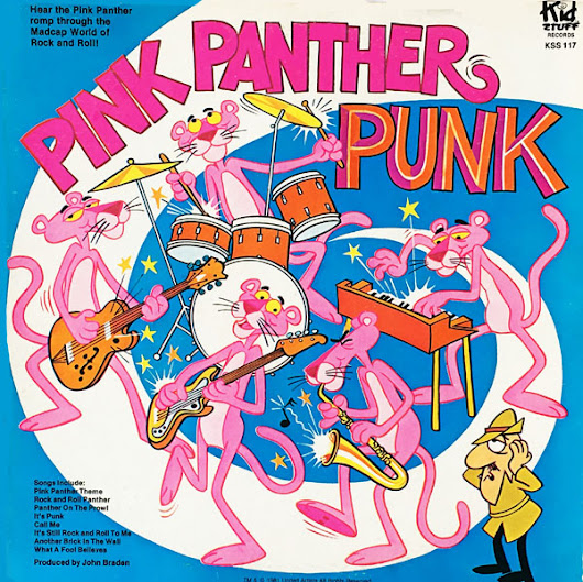 The Pink Panther on Records… Sort Of | Cartoon Research