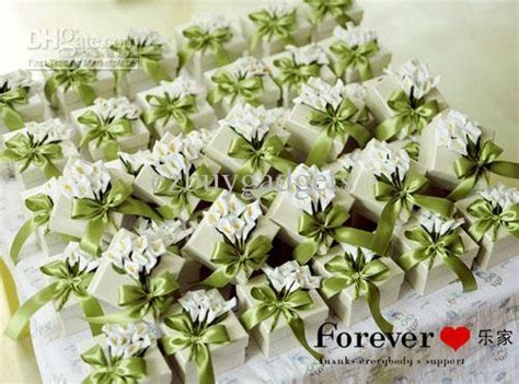 Cheap Wedding Favors Ideas Calla Lily Favor Boxes Gift