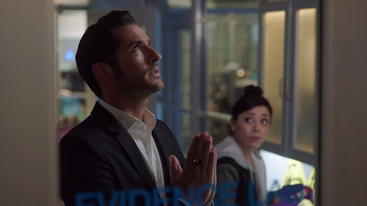 "Lucifer en Twitter: ""If you see #Lucifer praying, assume his mother's popped in for a visit. """