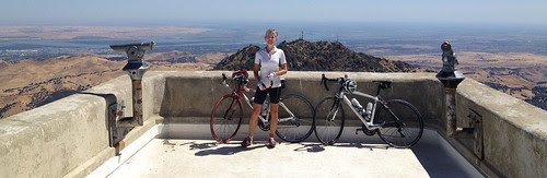 Tricia on Diablo at the very top