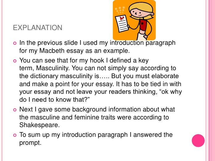 how to write a good introduction for a thematic essay