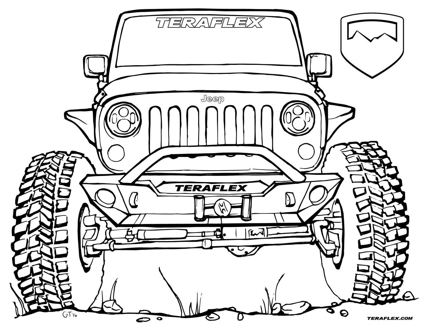 Cool Truck Drawing at GetDrawings | Free download