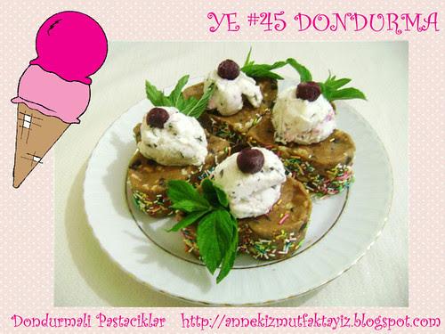 Dondurmali Pastaciklar - Anne Kiz Mutfaktayiz