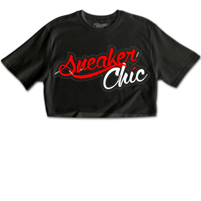 SneakerChic™ Cherry + Vanilla CropTop
