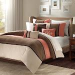 Madison Park Palisades 7-pc. California King Comforter Set - Coral