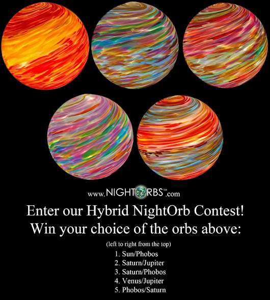 "Enter to win an 8"" Hybrid color NightOrb™ for your Fall garden or landscape - NightOrbs™"