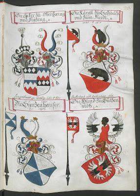 coloured escutcheons