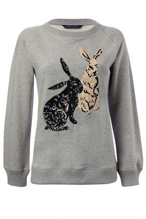French Connection Bad Bunny Sweatshirt