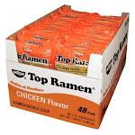 Nissin Top Ramen Oodles of Noodles, Chicken - 48 pack, 3 oz each