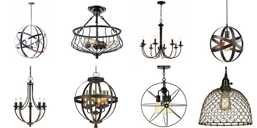 Fixer Upper Inspired Farmhouse Lighting - Centsible Chateau
