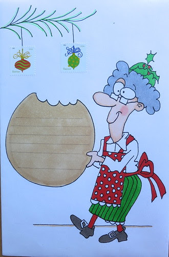 Christmas envelope #3