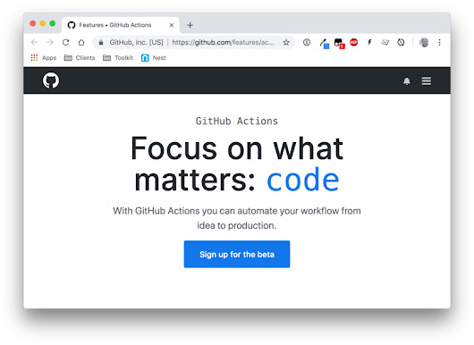 Introducing GitHub Actions | CSS-Tricks
