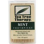 Tea Tree Therapy Toothpicks Tea Tree 100 Pick(s)