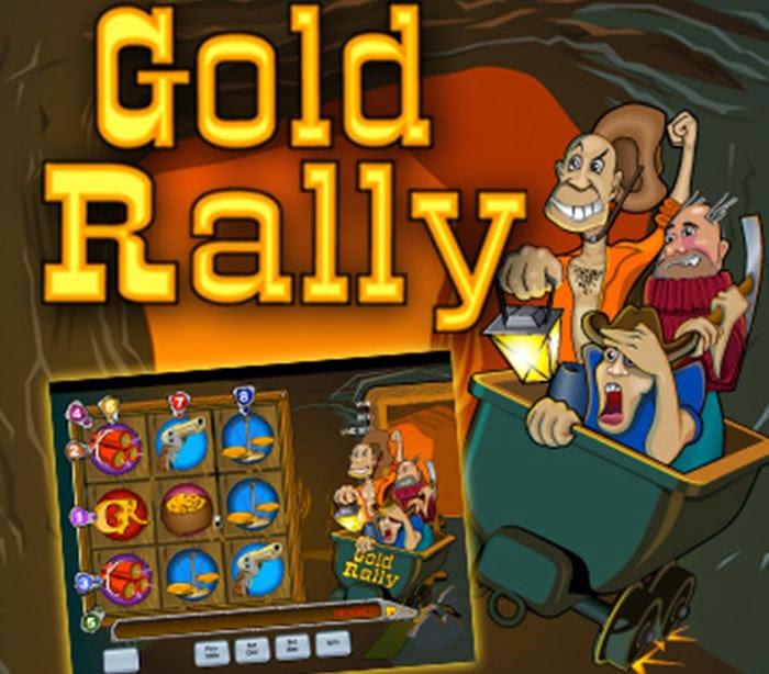 Go mining for progressive jackpots in gold rally slots keno vegas girl