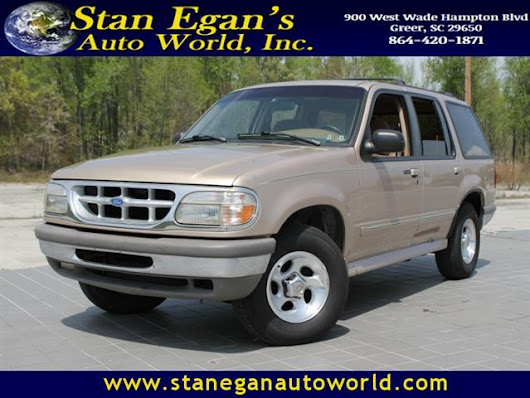 Used 1996 Ford Explorer for Sale in Greer SC 29650 Stan Egan's Auto World
