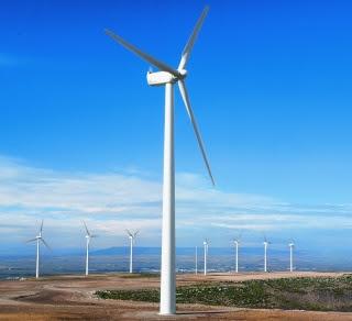 Parque eólico en España (AEE)