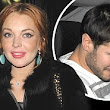 Is it back on? Lindsay Lohan carries on her London party as she leaves restaurant with rumoured boyfriend Josh Chunn in tow