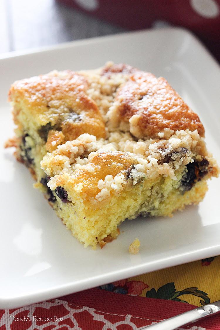 Lemon Blueberry Coffee Cake   Mandy's Recipe Box