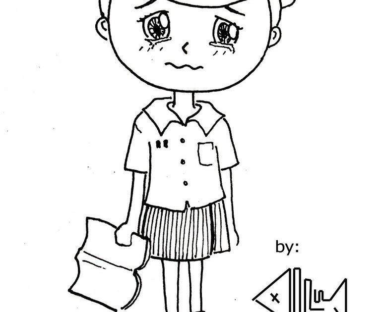 Gambar Ilustrasi Karikatur Yang Mudah Digambar Ideku Unik
