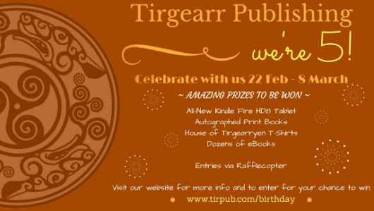 Tirgearr Publishing Turns Five