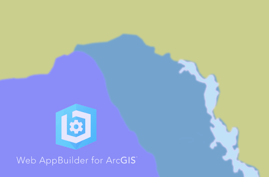 Web-map of visa regime: setting up a web application with WebApp Builder for ArcGIS