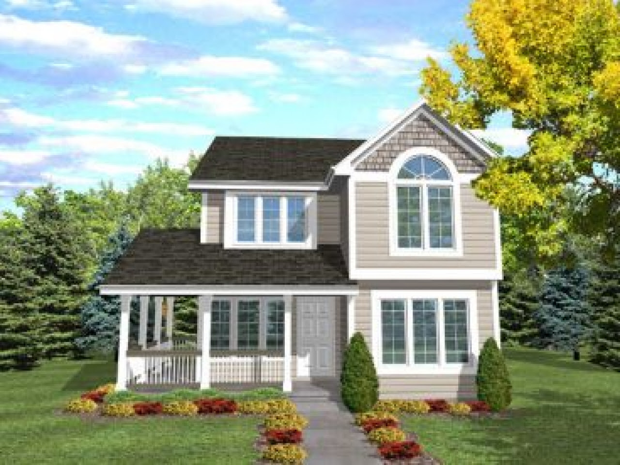 Narrow  Lot  House  Plans  with Front Garage Narrow  Lot  House