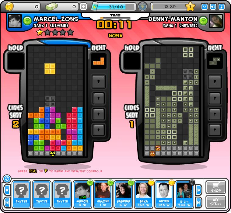 Tetris Online Pausenspiele
