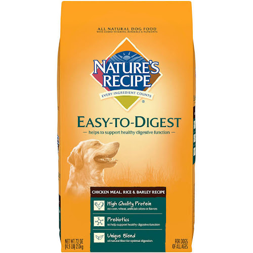 Google express natures recipe dog food all natural easy to natures recipe dog food all natural easy to digest chicken meal rice barley recipe 72 oz forumfinder Choice Image