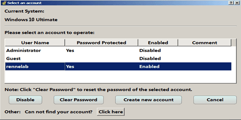 Windows 10 Password Reset Tool - Directly Remove Password without Data Lost